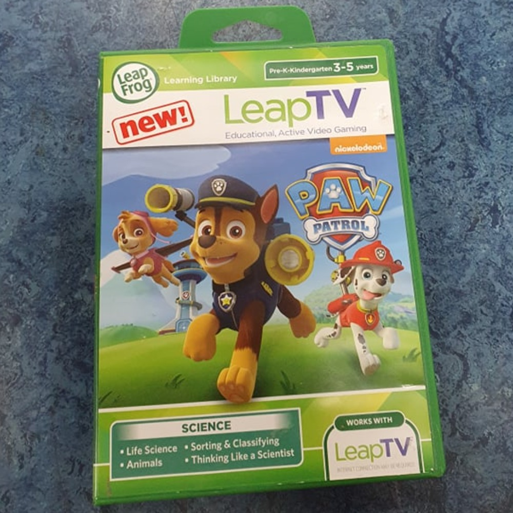 Product photo for leap frog Leap Tv Paw Patrol