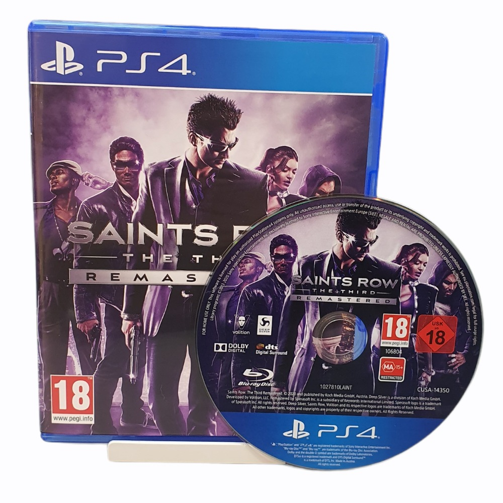 Product photo for Saints Row: The Third Remastered