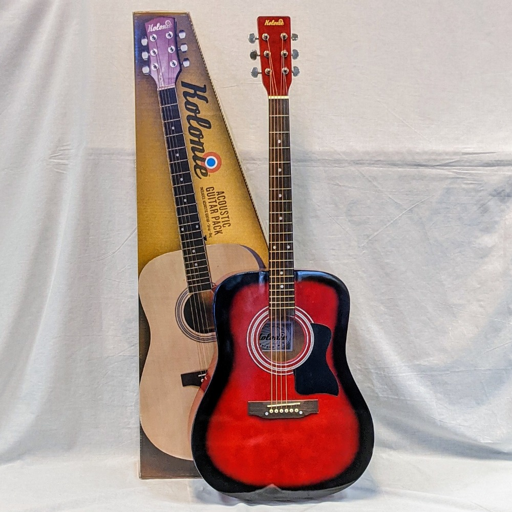 Product photo for Kolonie Kolonie Acoustic Guitar - New Boxed