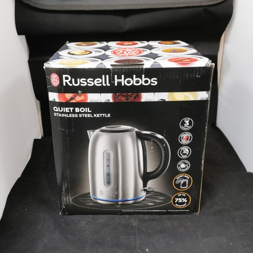Product photo for Russell Hobbs QUIET 3KW KETTLE