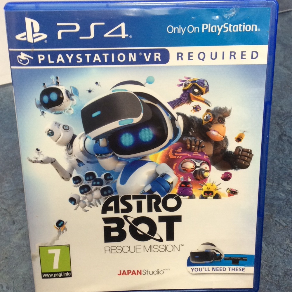 Product photo for astro bot rescue