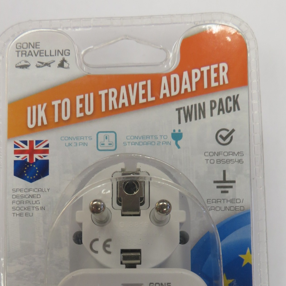 Product photo for travel adpt euro