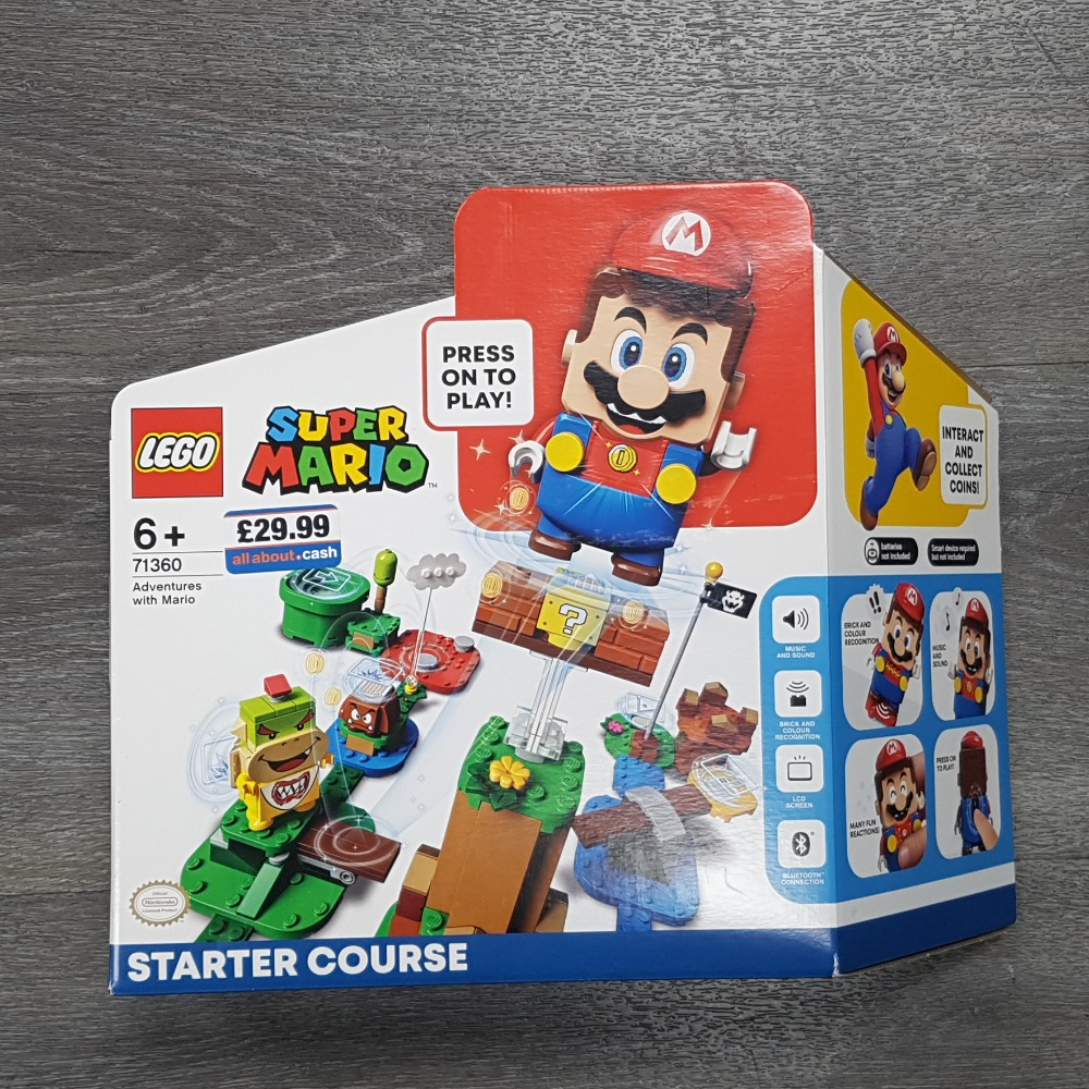 Product photo for LEGO Super Mario 71360 Adventures With Mario - Sealed