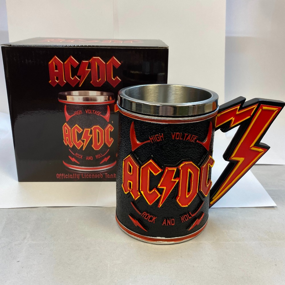 Product photo for ACDC tankard ( WAS £49.99 )