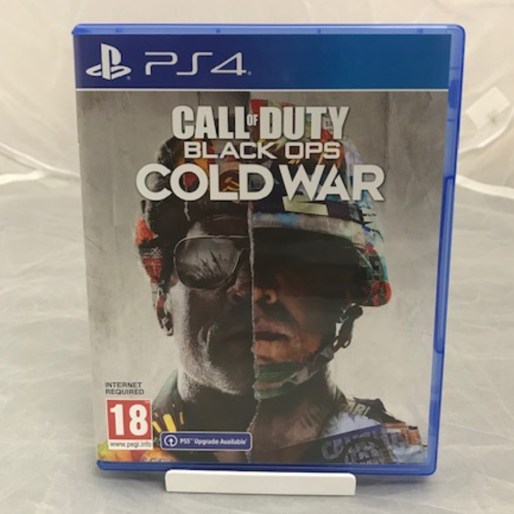 Product photo for Call of Duty: Black Ops Cold War (PS4) *SALE*