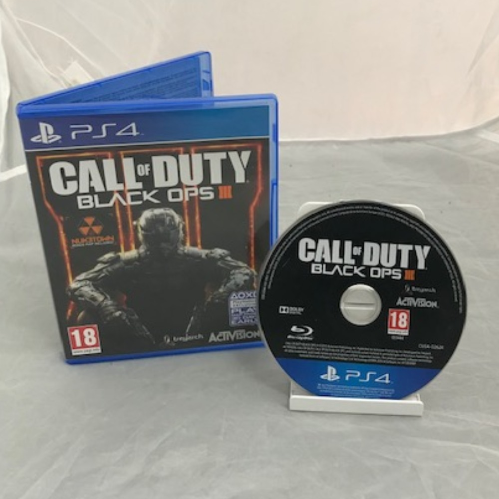 Product photo for PlayStation 4 Game COD: Black Ops III