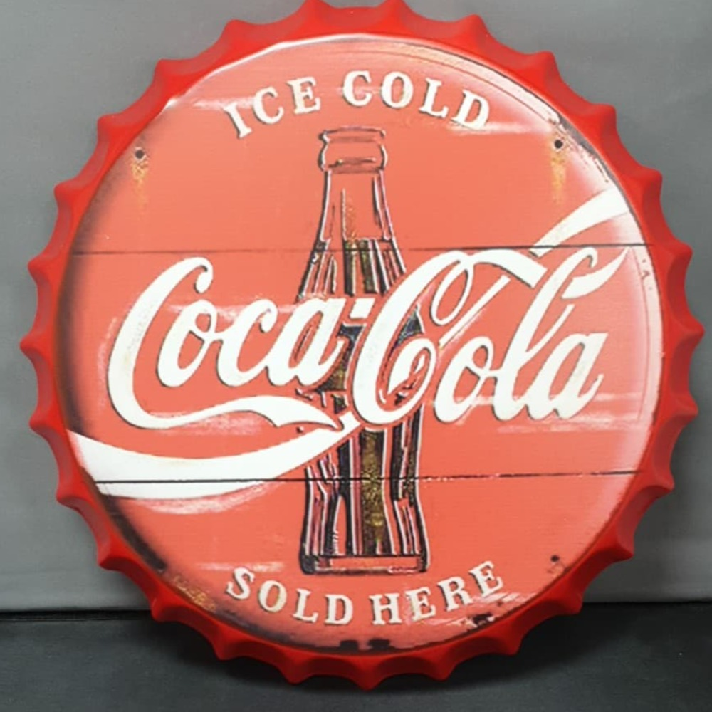 Product photo for 40cm Coca Cola New Design Bottle Cap