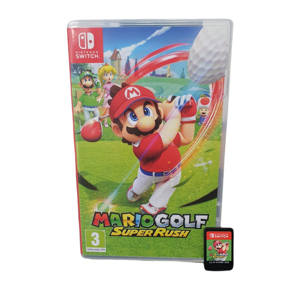 Product photo for Mario Golf: Super Rush - NINTENDO SWITCH GAME