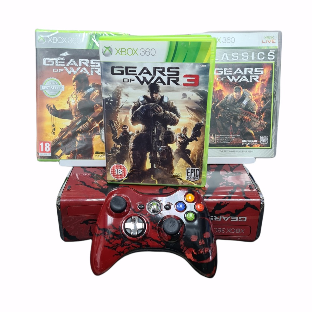 Product photo for Xbox 360 Gears Of War 250GB