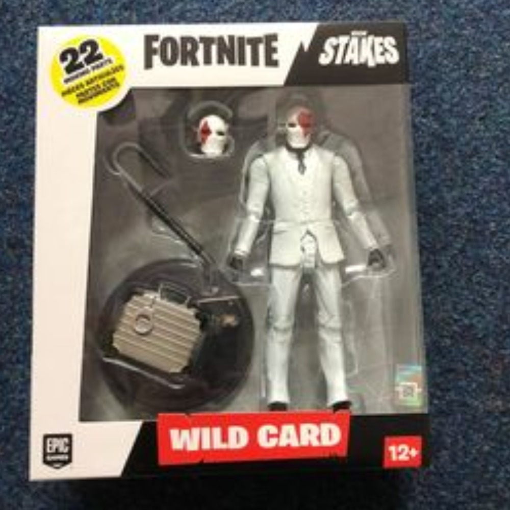 Product photo for Fortnite Wild Card Red Figure (Ages 12+)