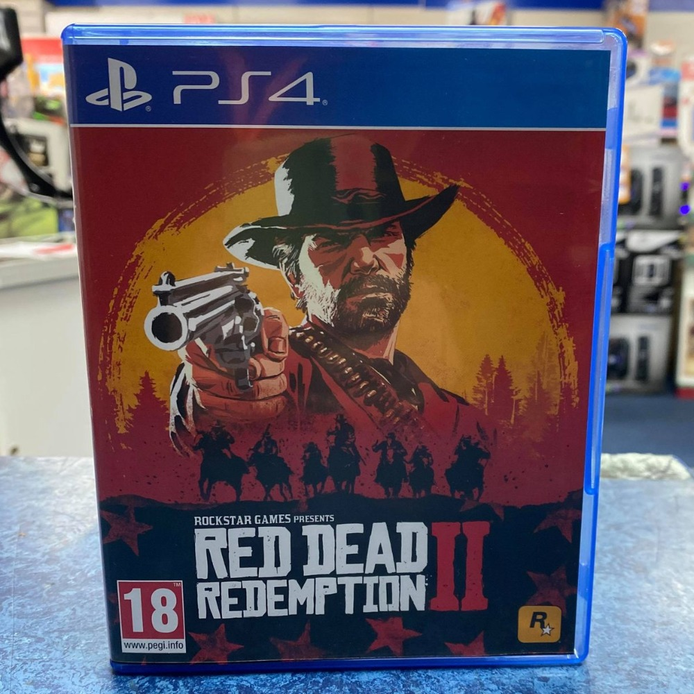 Product photo for Sony PlayStation 4 Game Red Dead Redemption 2 Playstation 4