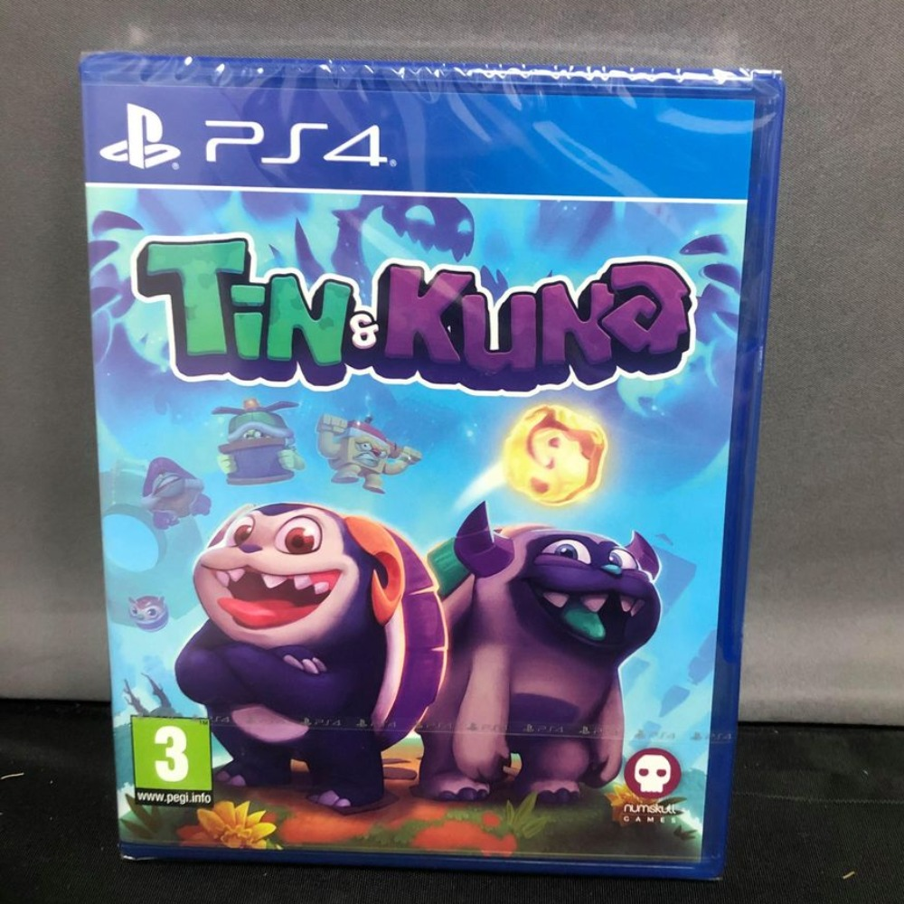 Product photo for SALE Tin and Kuna Ps4 Game (Sealed)