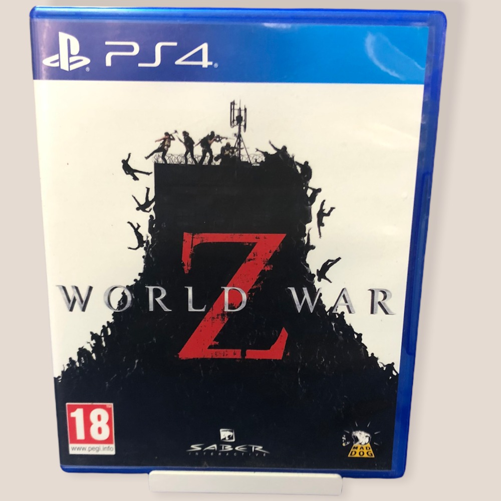Product photo for PS4 Game World War Z