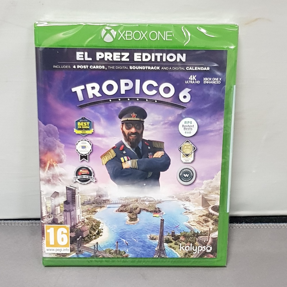 Product photo for Tropico 6 Xbox One