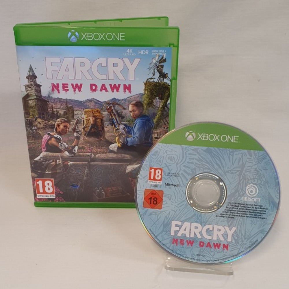 Product photo for  Xbox one game FARCRY New Dawn