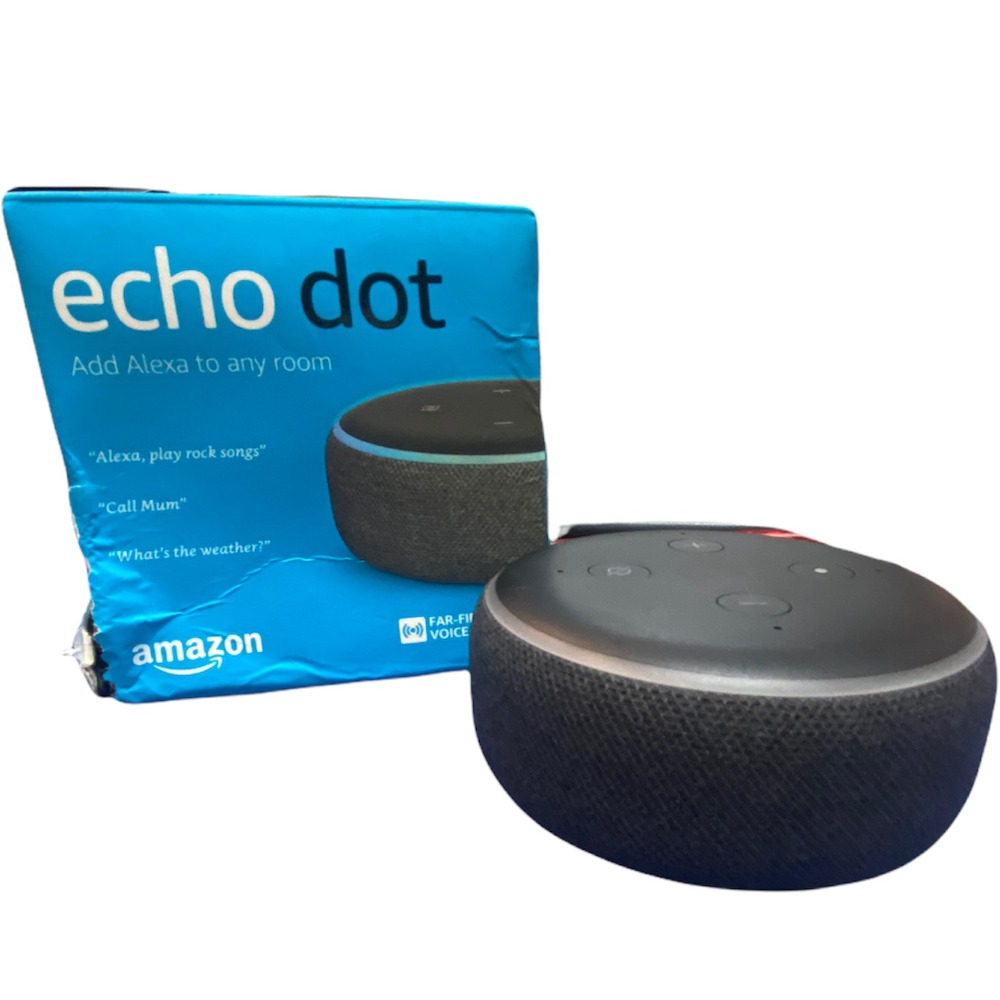 Product photo for Echo Dot 3rd gen