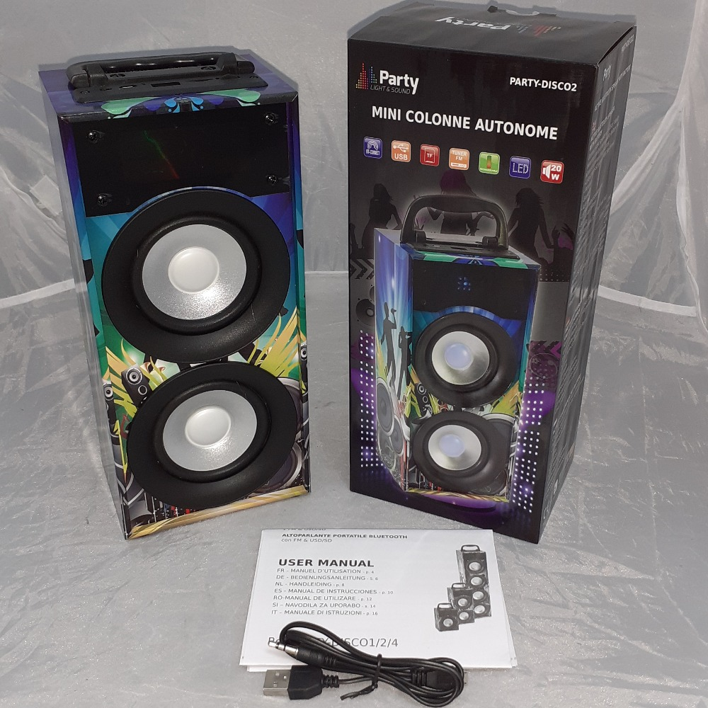 Product photo for party 20w bluetooth speaker