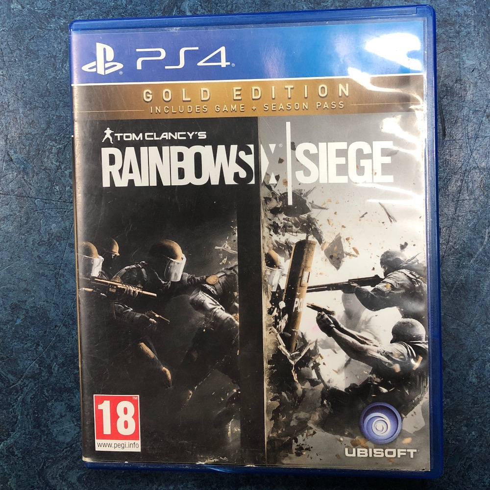 Product photo for Sony Rainbow Six Siege PS4