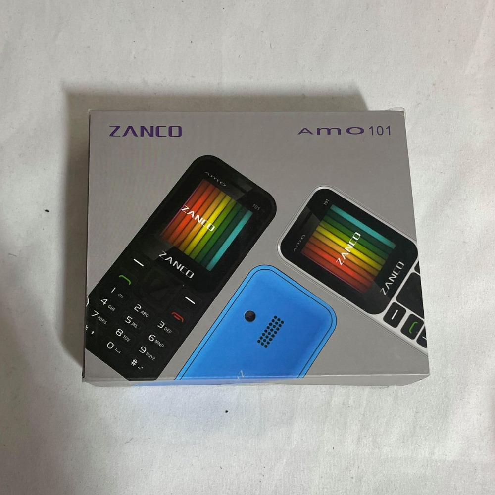 Product photo for ZANCO Amo 101 Dual SIM Free Mobile Phone