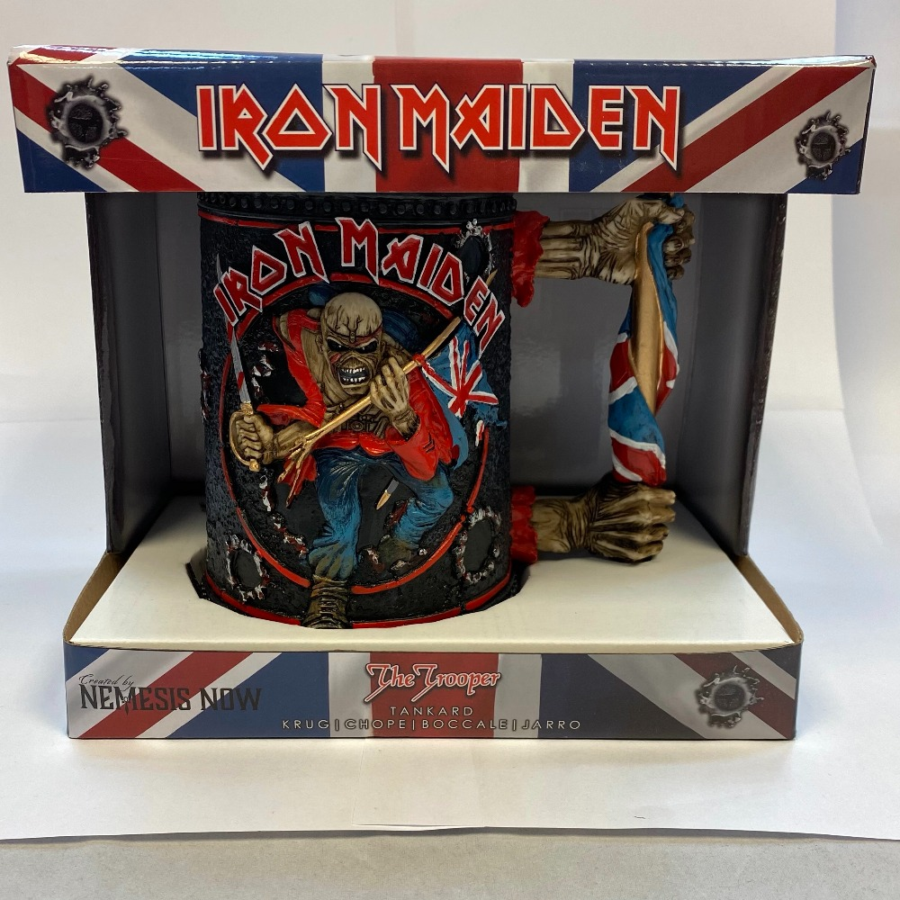 Product photo for Iron maiden tankard ( WAS £49.99 )