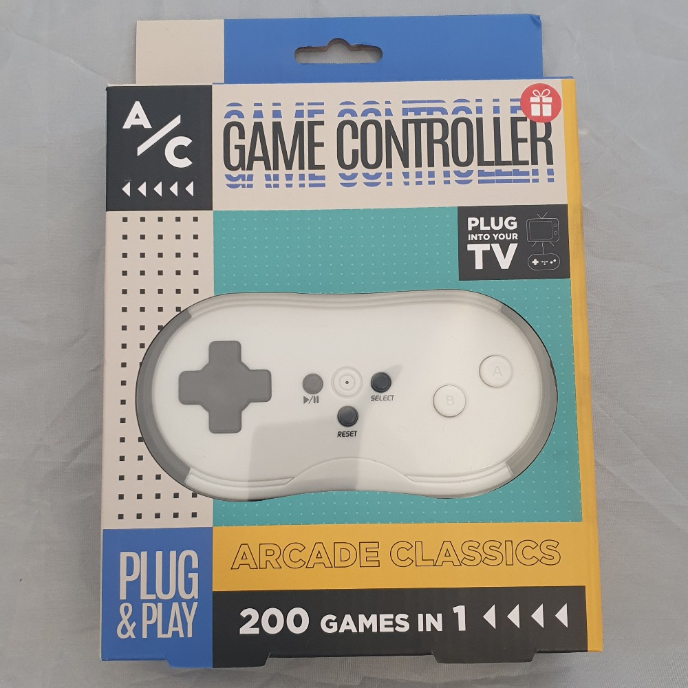 Product photo for A/C Game Controller (200 Games in 1)