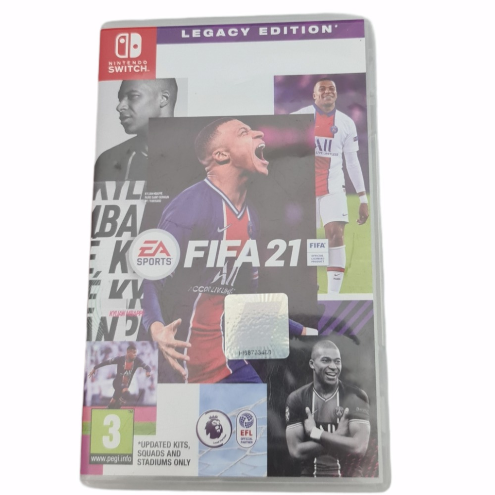 Product photo for Nintedo Switch game Fifa 21