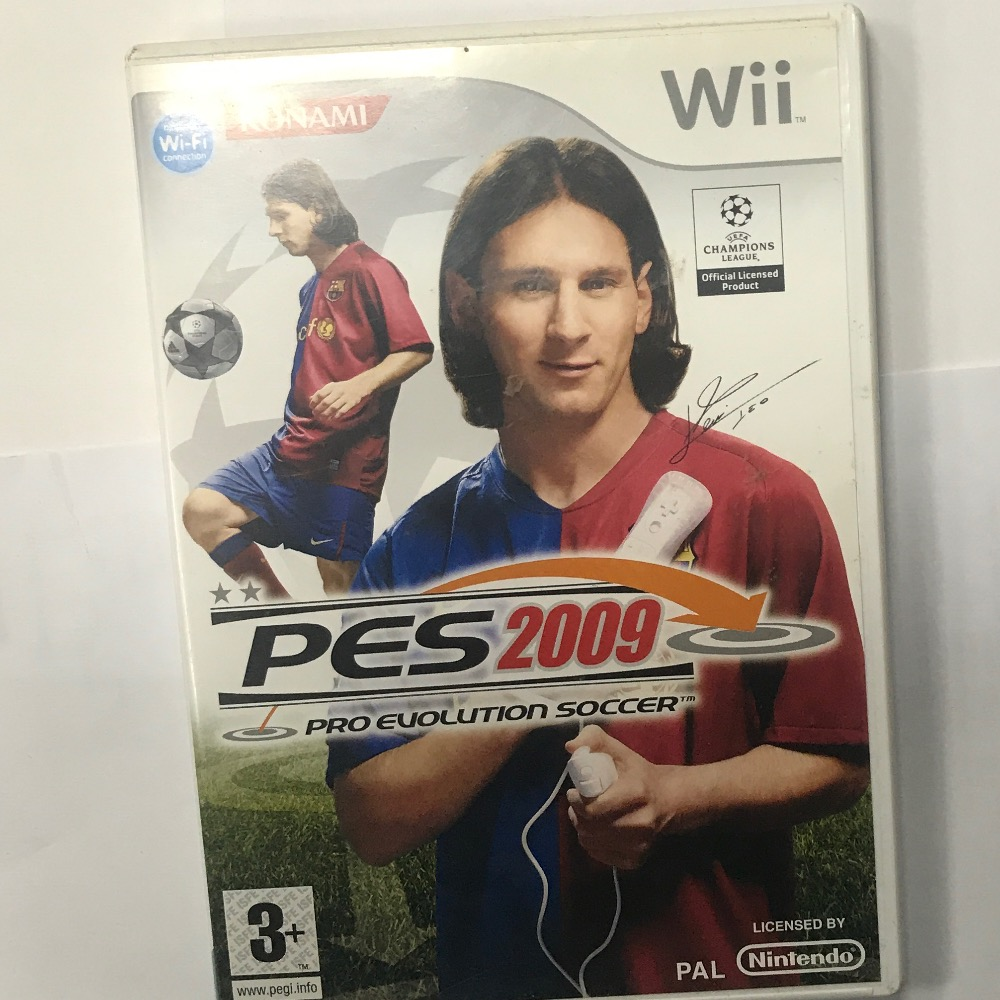 Product photo for Wii Game Wii Game pes 2009