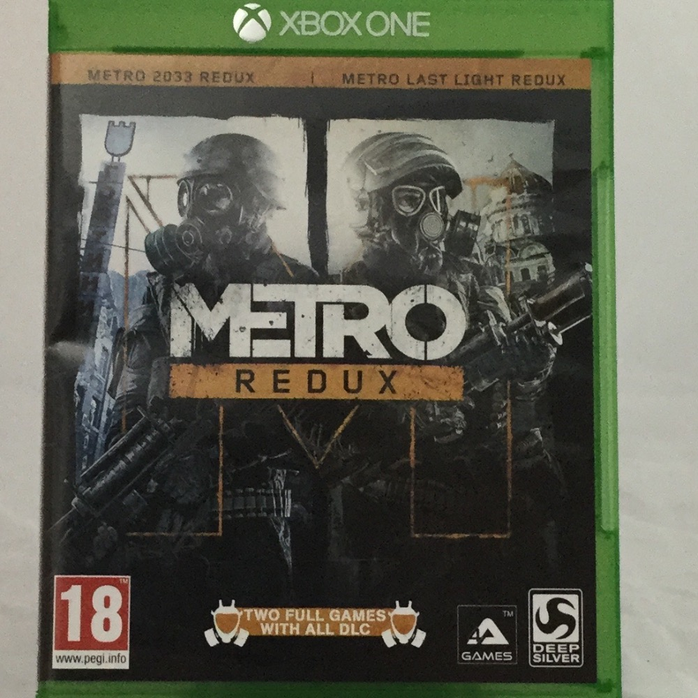 Product photo for Xbox One Game Metro Redux