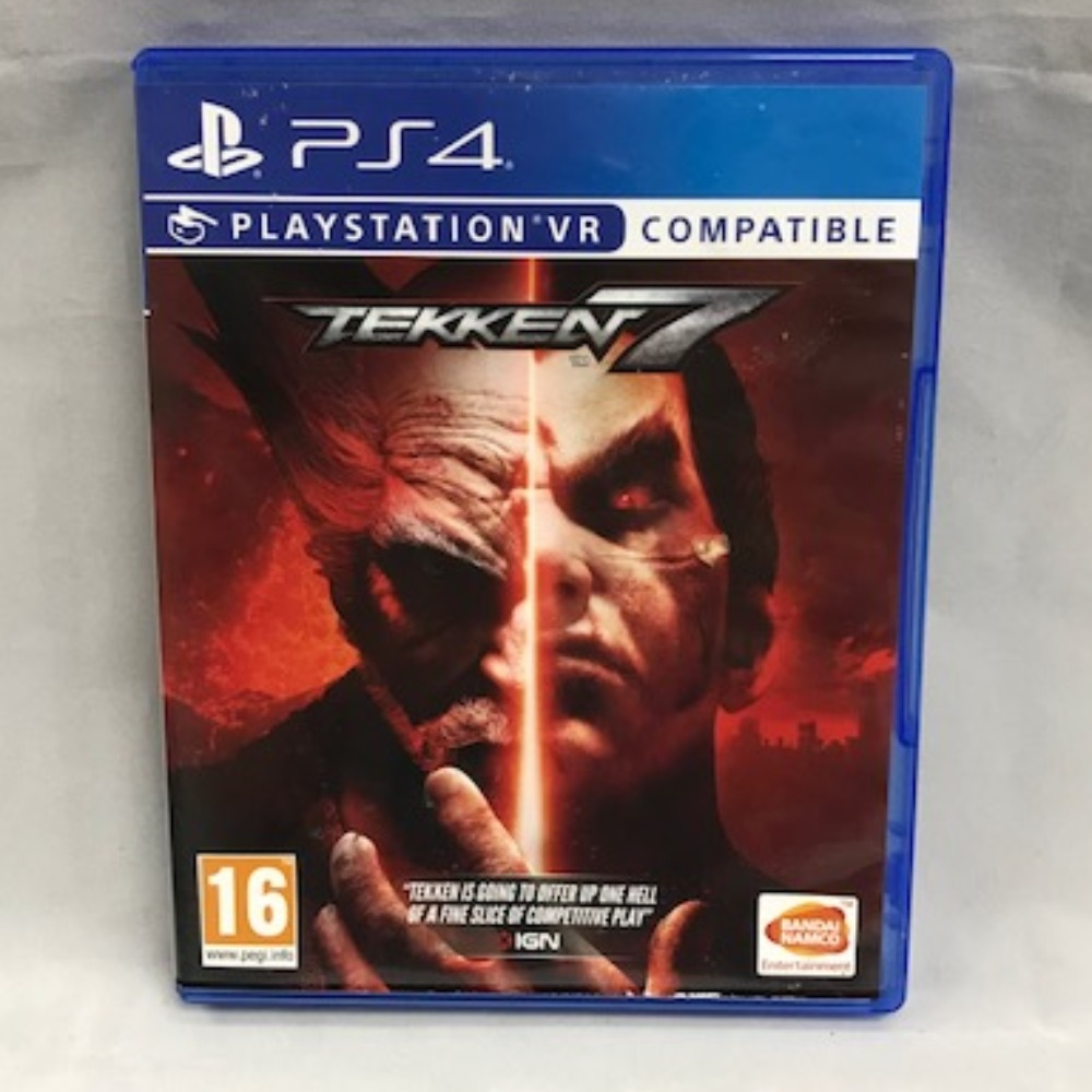 Product photo for Sony PlayStation 4 Tekken 7 Game