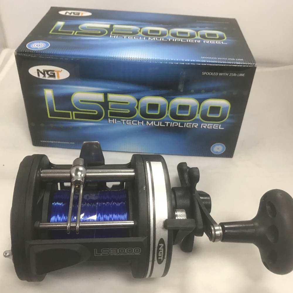 Product photo for ngt Fishing ls3000 Multiplier Reel
