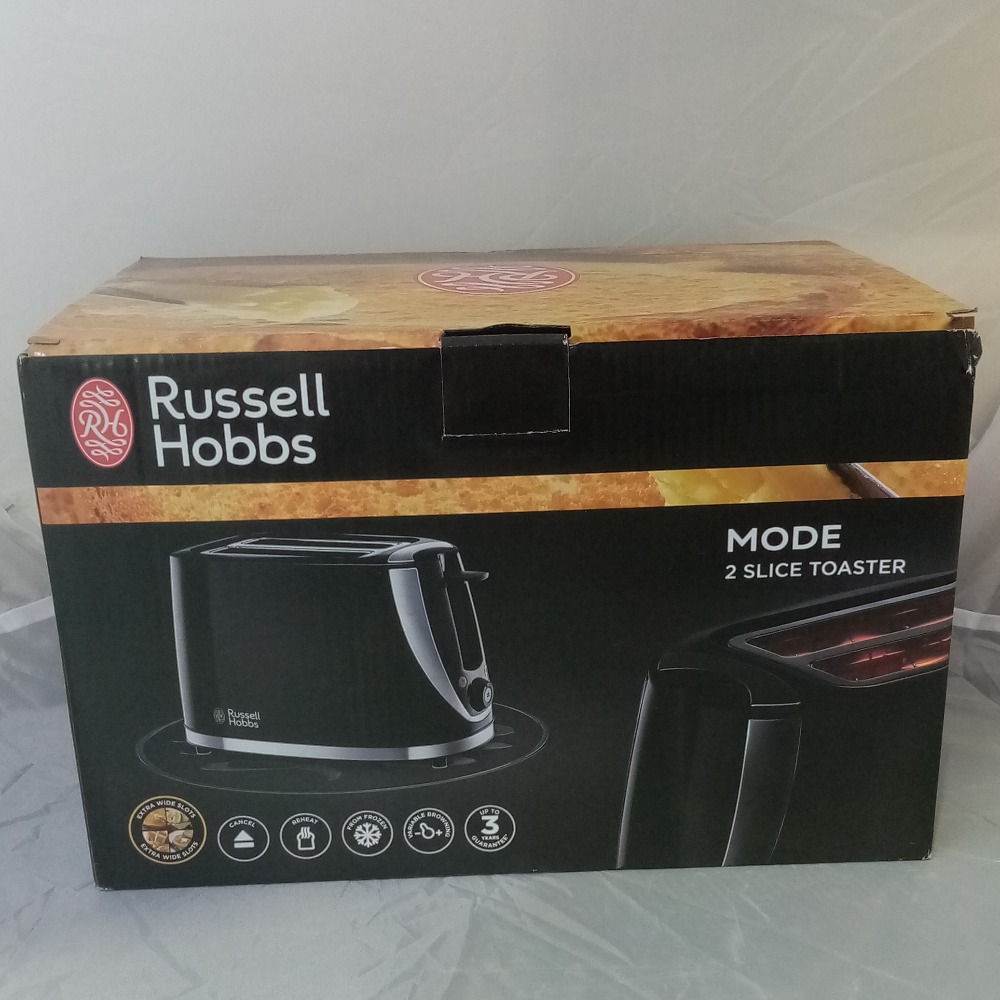 Product photo for Mode 2 Slice Toaster Russell Hobbs