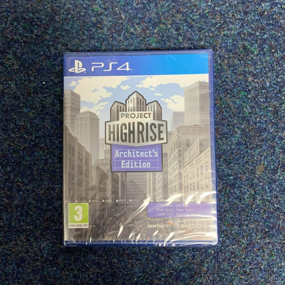 Product photo for PS4 Game Project Highrise Architects Edition