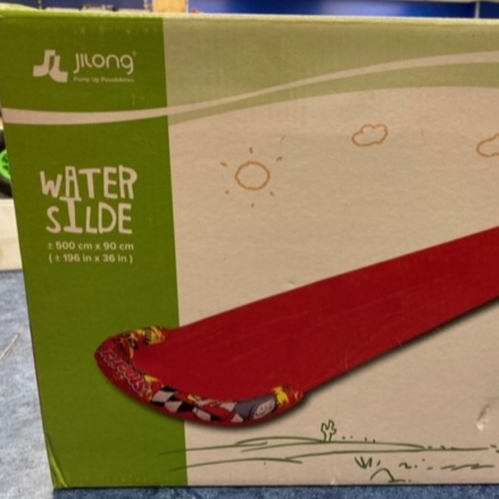 Product photo for JILONG WATER SLIDE INFLATABLE