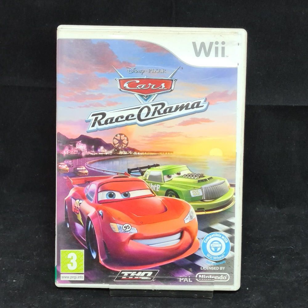 Product photo for Nintendo Wii Game Cars Race O Rama