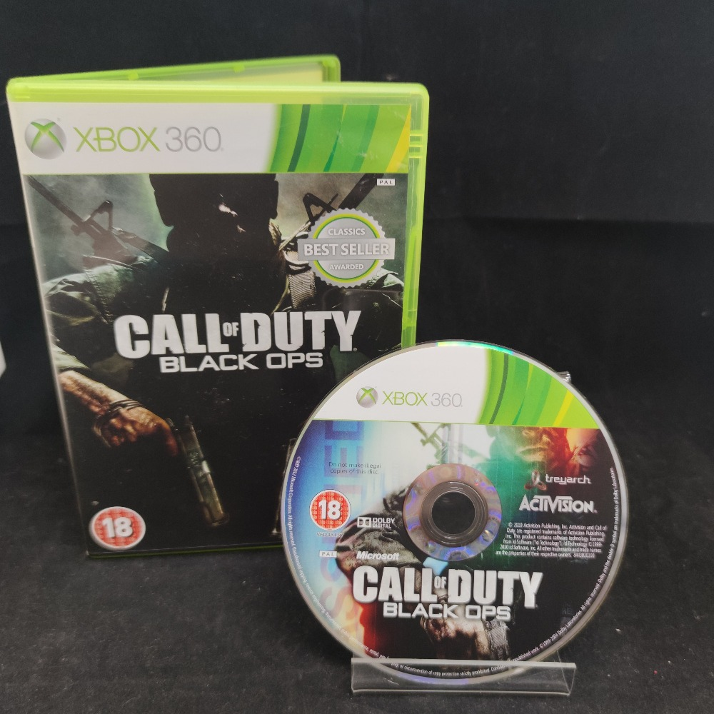 Product photo for  Microsoft Xbox 360 game COD Black Ops