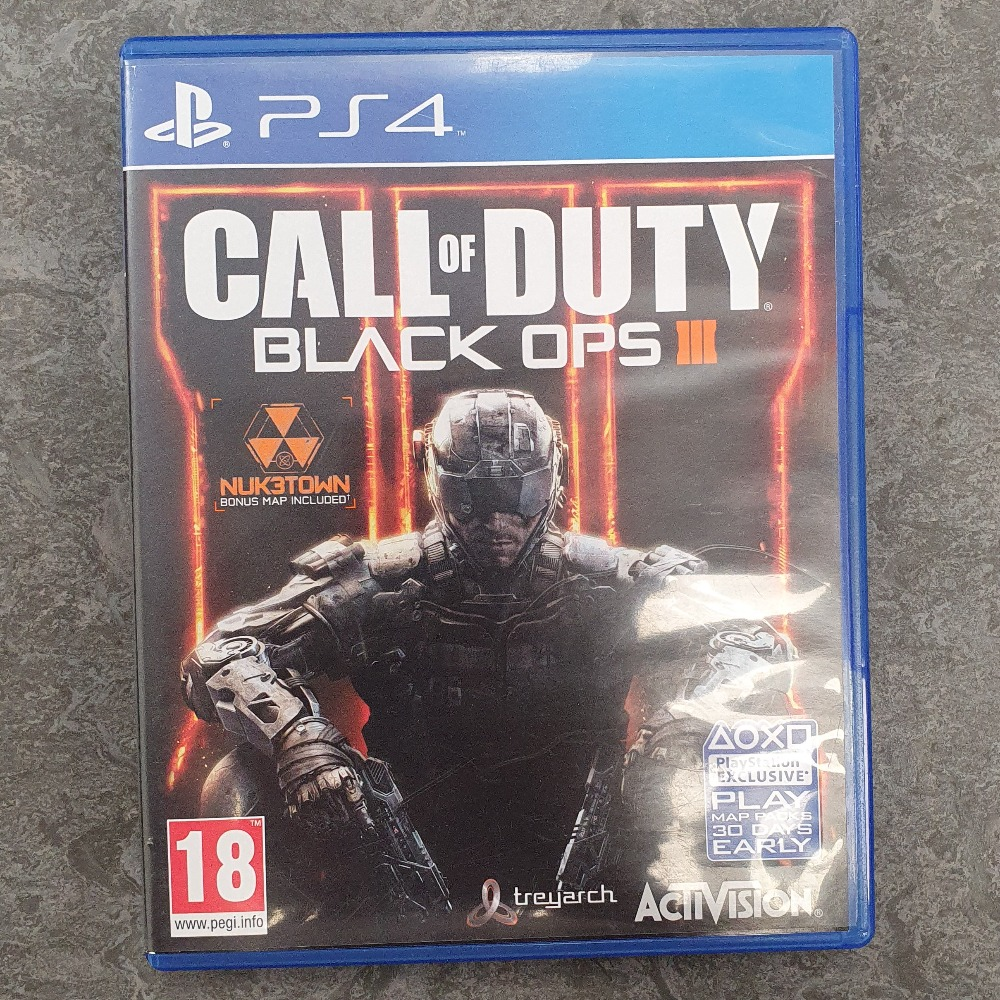 Product photo for Call of Duty Black Ops 3 (PS4)