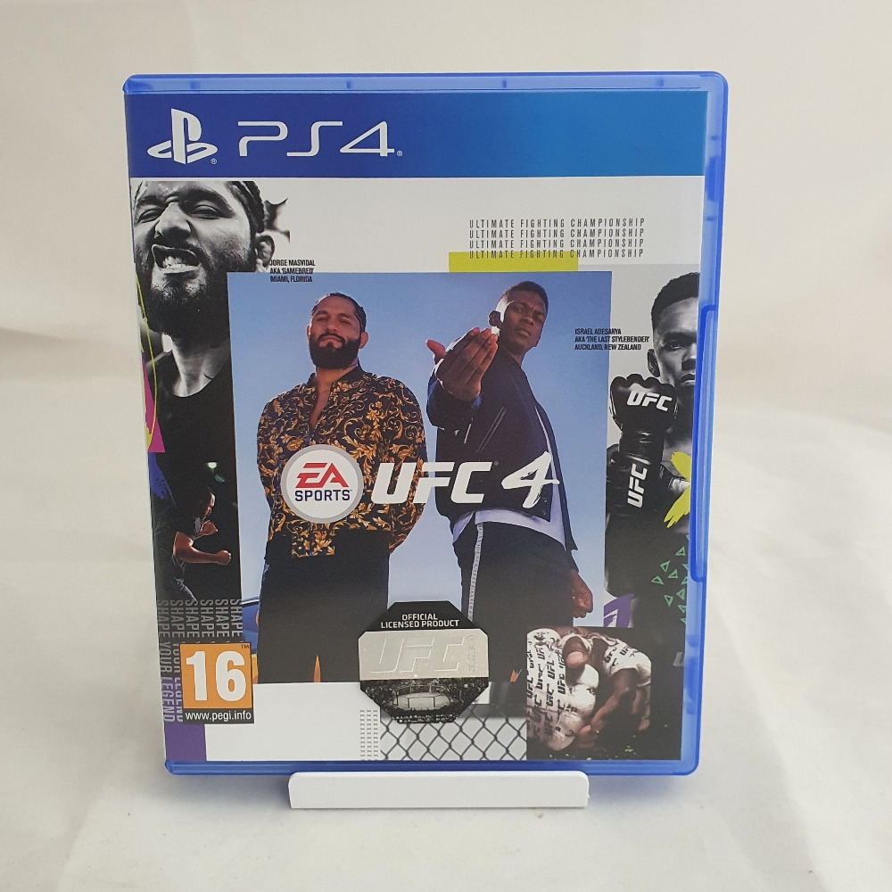 Product photo for PS4 Game UFC 4