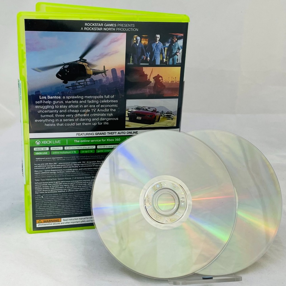 Product photo for Grand Theft Auto Xbox 360 Game