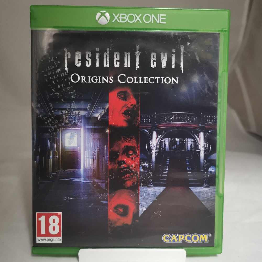 Product photo for Xbox One Game Resident Evil Origins Collection