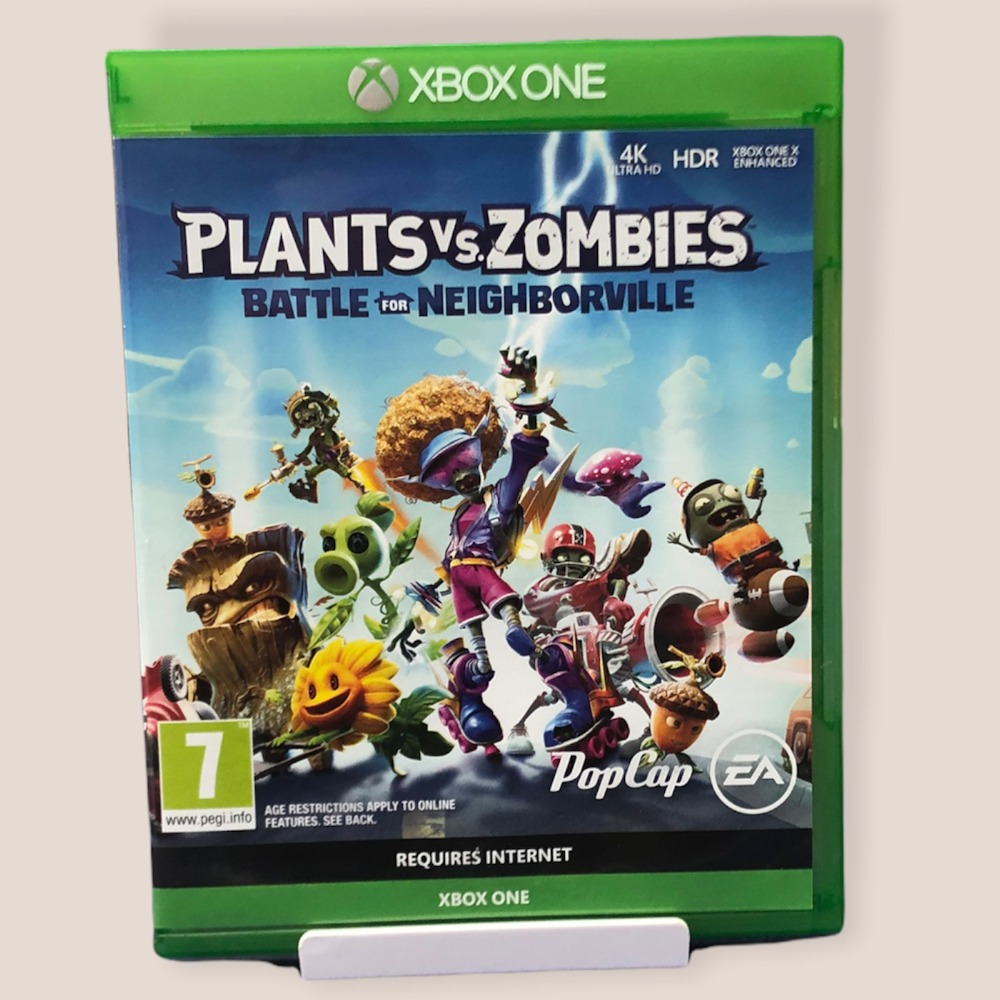 Product photo for  Xbox one game Plants vs Zombies: Battle for Neighbourville