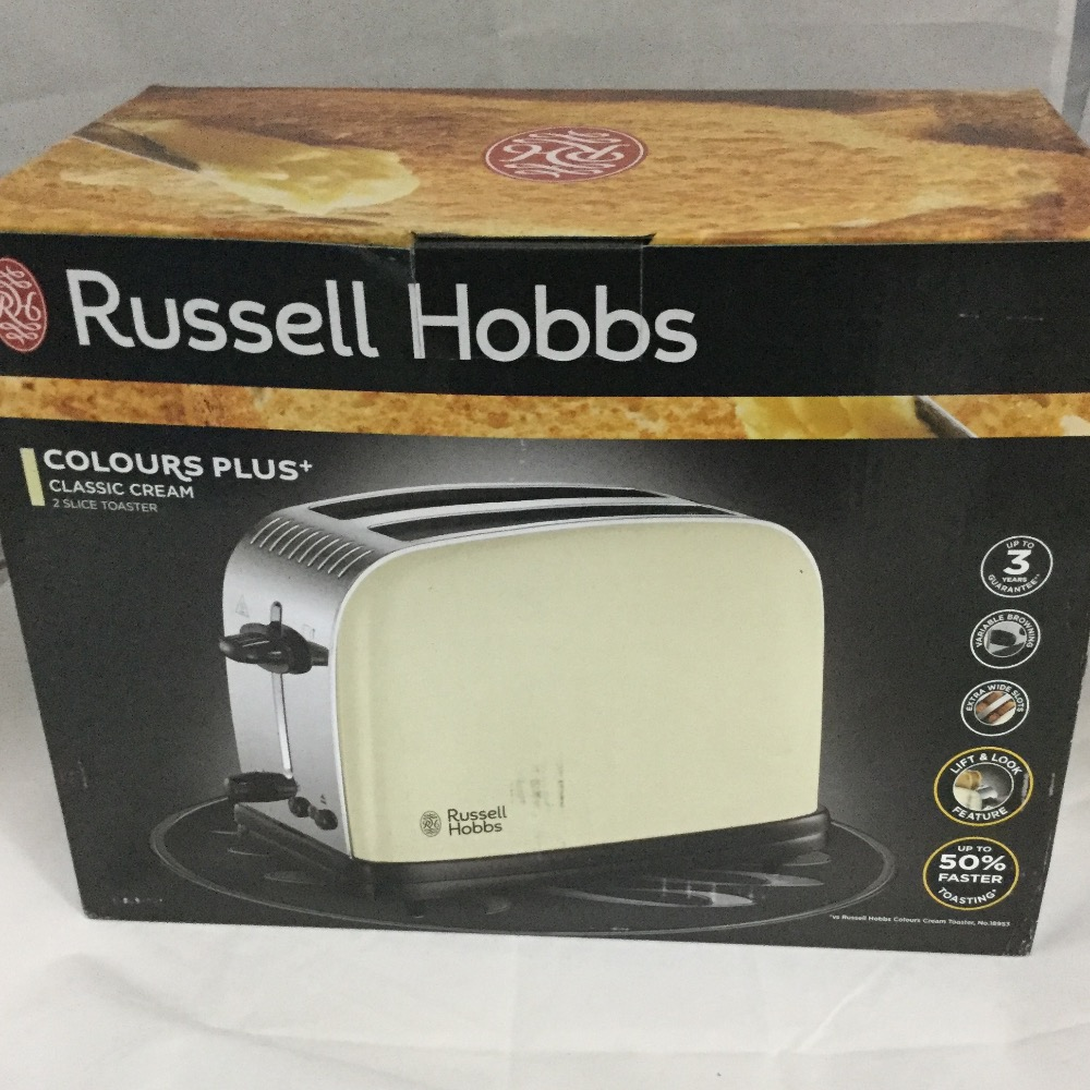 Product photo for Russell Hobbs COLOUR PLUS Toaster