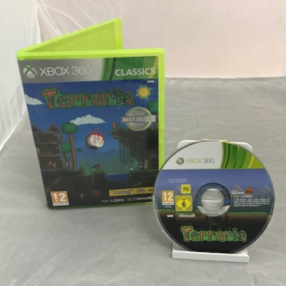 Product photo for Xbox 360 Game Terraria