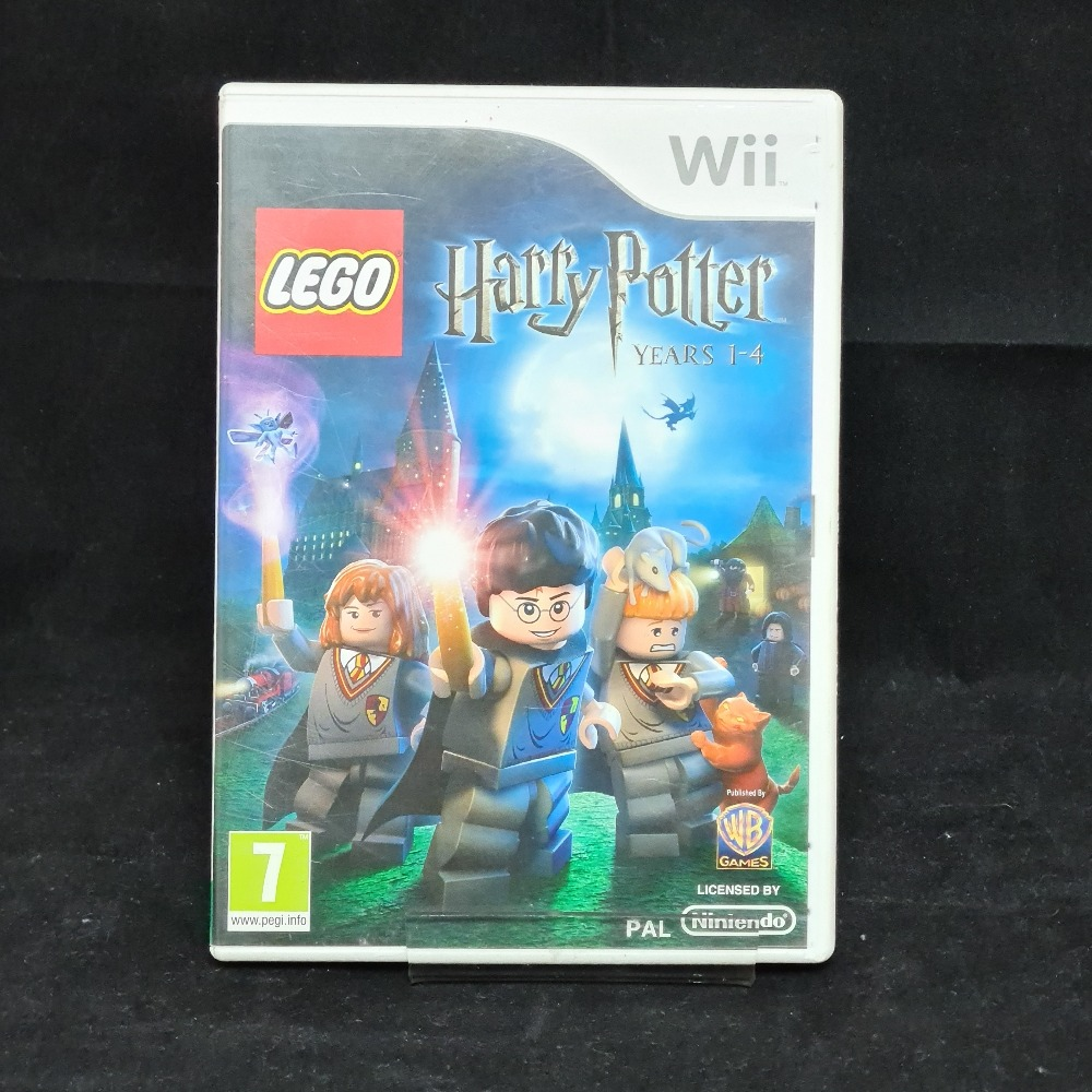 Product photo for Nintendo Wii Game Lego Harry Potter 1-4