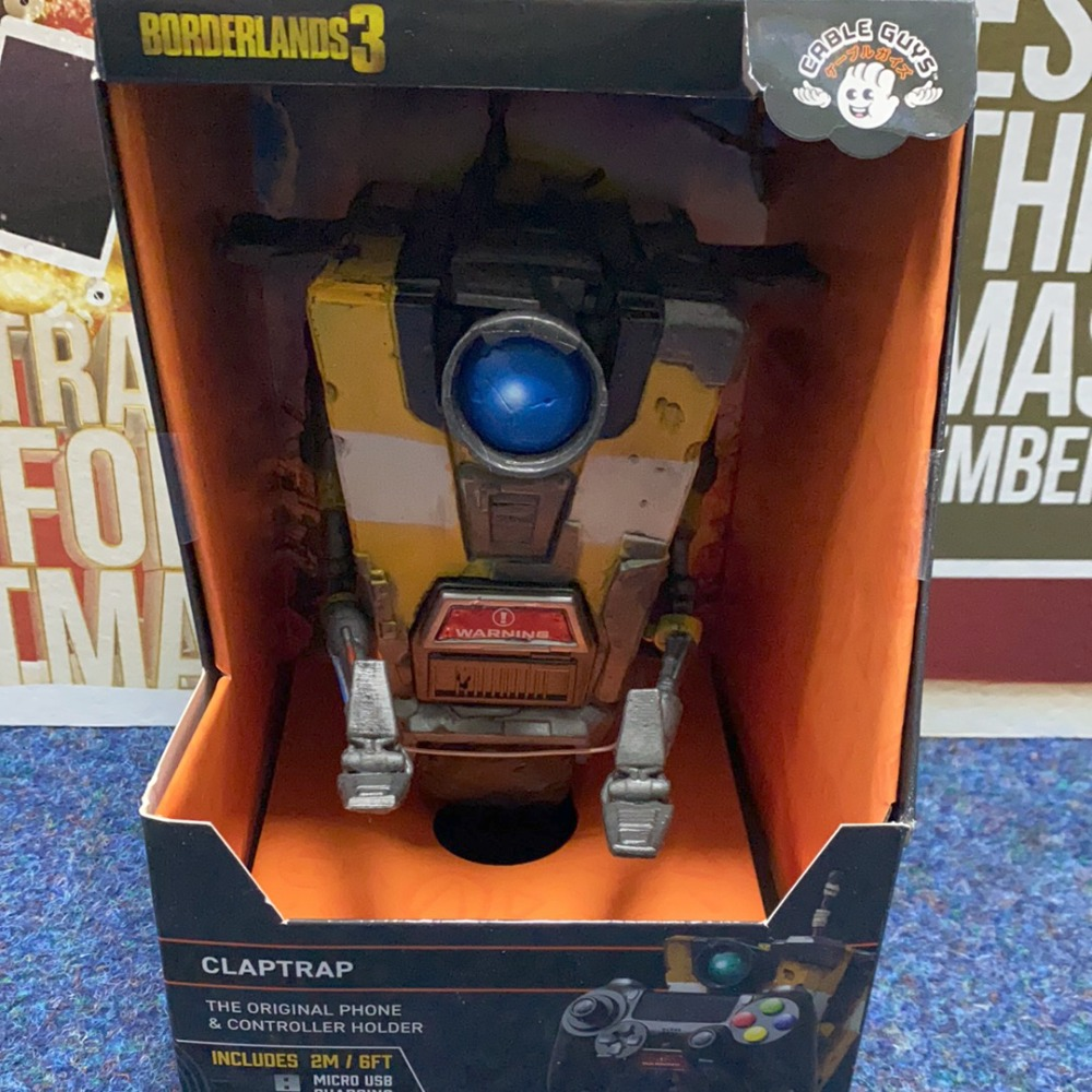 Product photo for Gearbox Borderlands 3 Claptrap Phone / Controller Holder