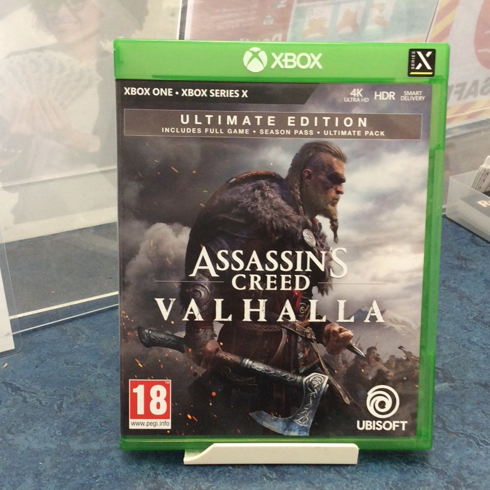 Product photo for Xbox Game Assassins creed valhalla
