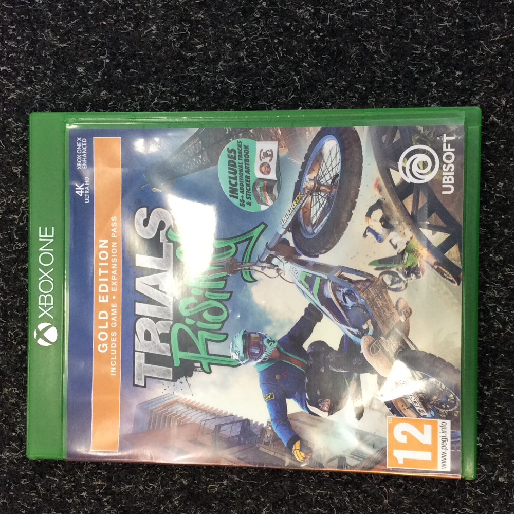 Product photo for Xbox One Game Xbox One Trials Rising