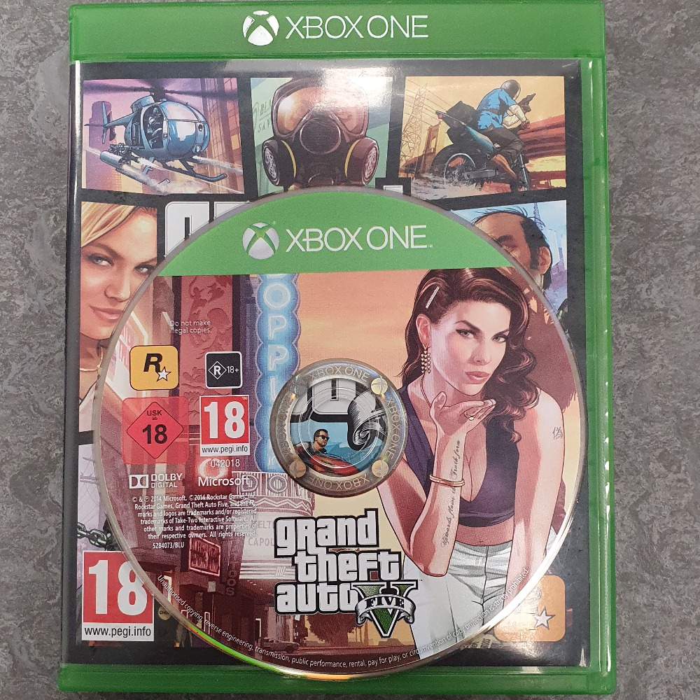 Product photo for Xbox One Game Grand Theft Auto V (Xbox One)