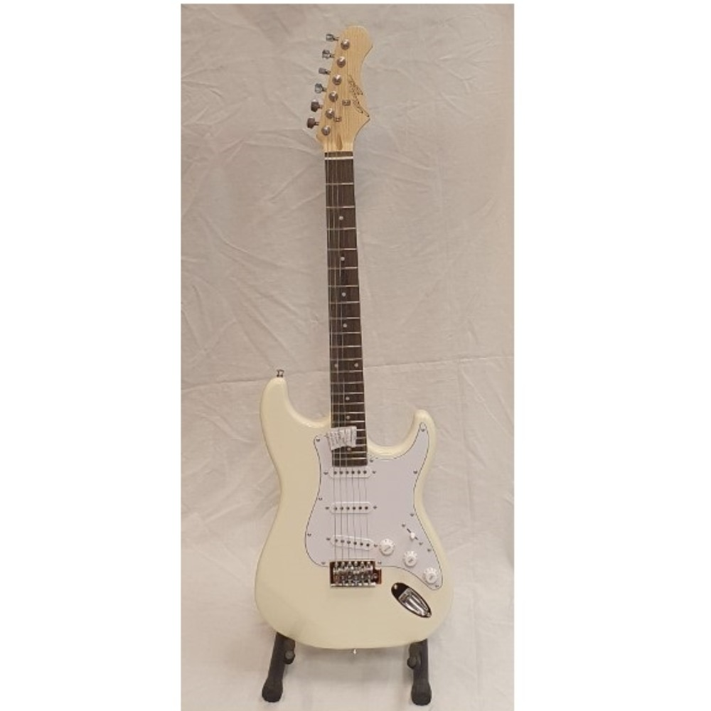 Product photo for Electric Guitar White - Johnny Brook