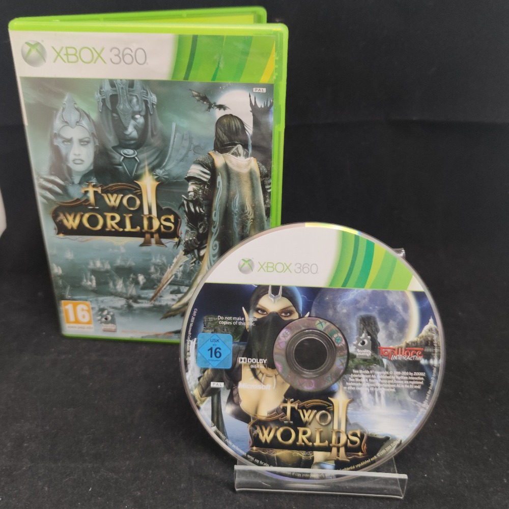Product photo for  Microsoft Xbox 360 game Two Worlds 2