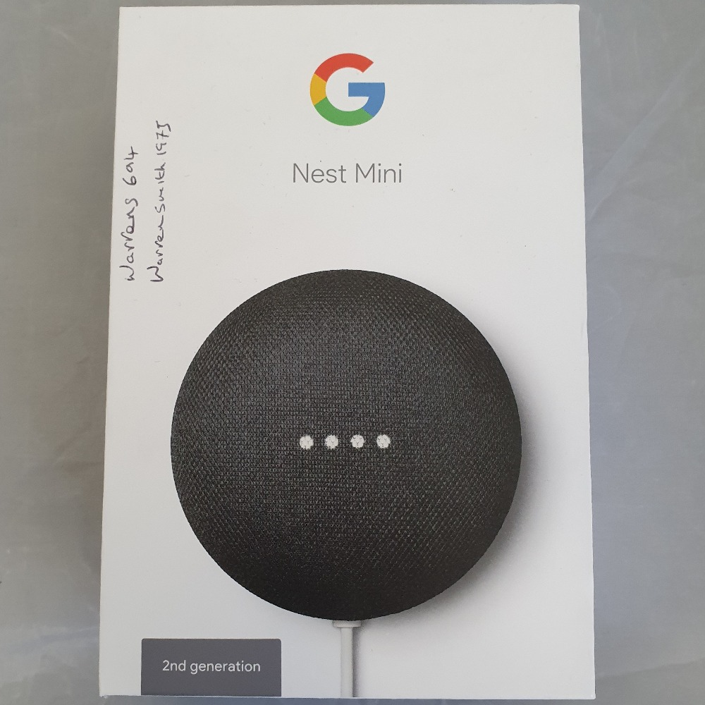 Product photo for Google Google Nest Mini